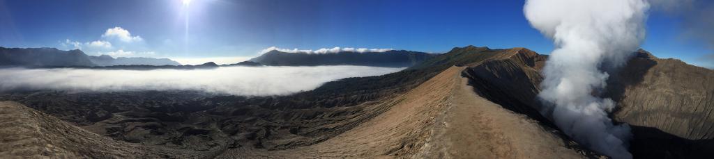 Mount Bromo Panorama