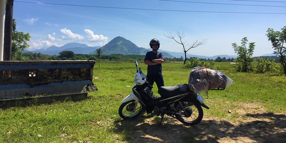 Motorbike to Da Lat Vietnam